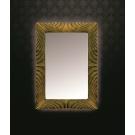 Зеркало прямоугольное с подсветкой антика патина 80x120 Boheme 520