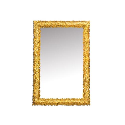 Зеркало NATURA золото 80x120 Boheme 524