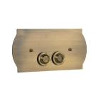 Кнопка для инсталляции латунь Medici Boheme 651