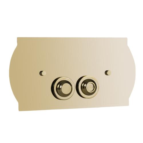 Кнопка для инсталляции латунь Imperiale Boheme 652