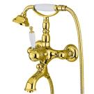 Bugnatese Смеситель OXFORD для ванны золото