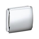 PLAN Держатель туалетной бумаги с крышкой хром