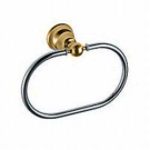 Raffaella полотенцедержатель кольцо хром-золото