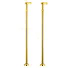 Bugnatese Акс ноги для Смеситель золото 19640 (пара)