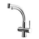 Gessi Смеситель OXYGENE для кухни хром 00902 под фильтр для питьевой воды