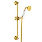 Bugnatese Душ стойка золото антика с ручкой и шлангом