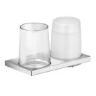 Edition 11 Держатель стакана и дозатора для жидкого мыла хром