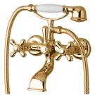 Bugnatese Смеситель OLD 800 для ванны с душем золото