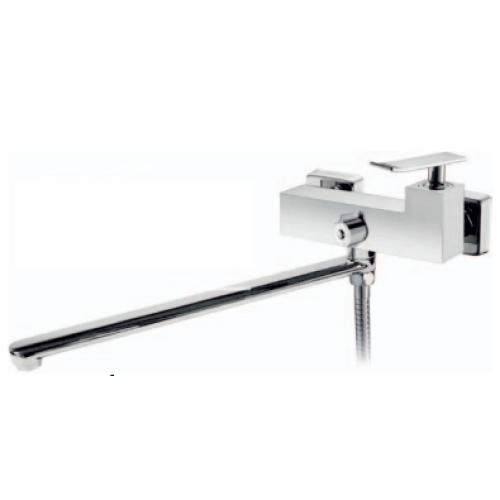 BelBagno TIC-VDLM-CRM Смеситель для ванны и душа с длинным изливом