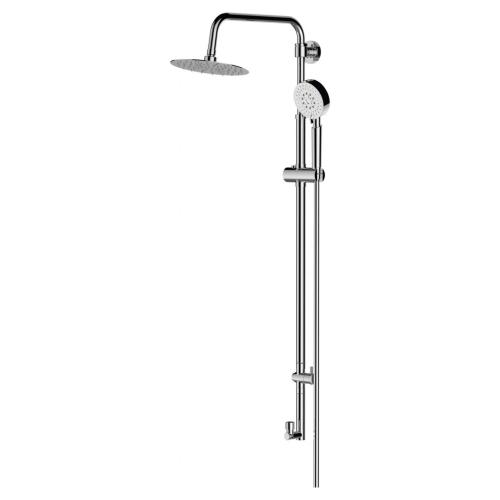 BelBagno BB-COLD-U-CRM Душевая колонна без смесителя с верхним и ручным душем