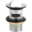 BelBagno BB-PCU-05-CRM Донный клапан с системой Клик-клак с переливом