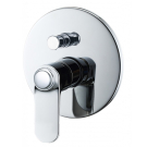 BelBagno BOR-BASM-CRM Встраиваемый смеситель для ванны и душа с переключателем