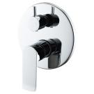 BelBagno DIS-BASM-CRM Встраиваемый смеситель для ванны и душа с переключателем