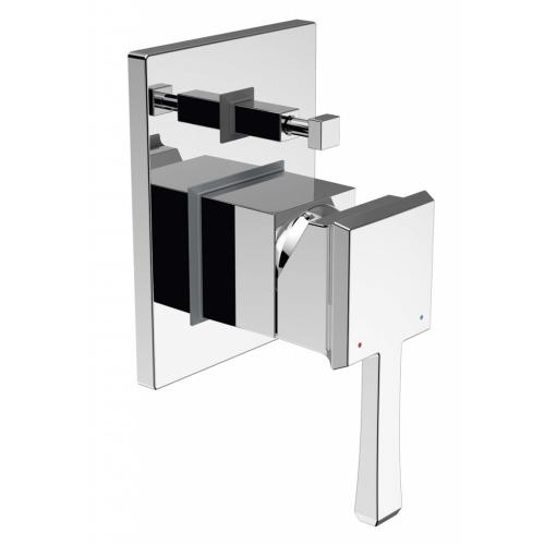 BelBagno MIL-BASM-CRM Встраиваемый смеситель для ванны и душа с переключателем